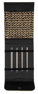 Knit Pro / Lana Grossa Nadelset  Nadelspiele Edelstahl (Farbe: Schwarz)
