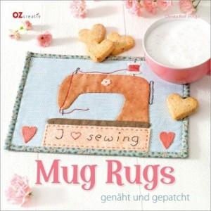 Buch - Mug Rugs genäht und gepatcht von Christina Rolf