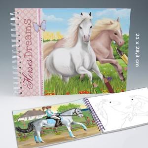 Horses Dreams Malbuch für kreative Pferdefans von Depesche