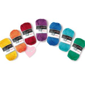 Pro Lana Basic Cotton - feines Baumwollgarn in vielen Farben (Farbe: weiß)