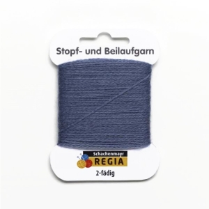 Regia Stopf- und Beilaufgarn 2-fädig 41m 5g (Farbe: burgund)