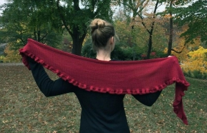 Rosy Green Wool Anleitung - Tuch Feuerland