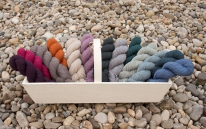 Rosy Green Wool Manx Merino Fine 2018 GOTS (Farbe: Gewitter)