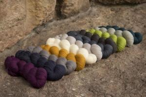 Rosy Green Wool Merino d´Arles - Bio Merinowolle GOTS (Farbe: Rivière)