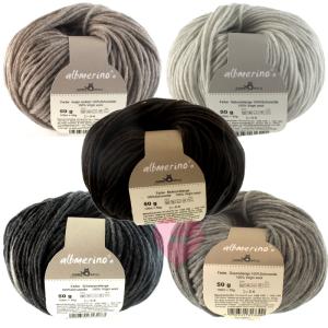 Schoppel Wolle Alb Merino naturbelassene Wolle (Farbe: Mokkamelangé)