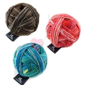 Schoppel Wolle XL Kleckse -aus extrafeinem Merino (Farbe: Mendocino)