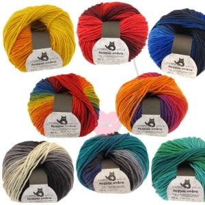 Schoppel Wolle Reggae ombré - bunte Merinowolle alle Farben (Farbe: Flussbett)