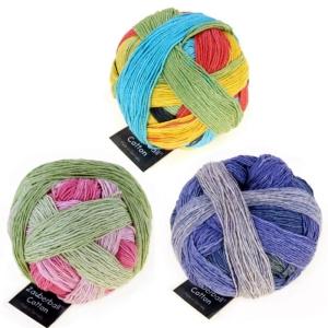 Schoppel Wolle Zauberball® Cotton - Bio Baumwolle (Farbe: Rosige Zeiten)