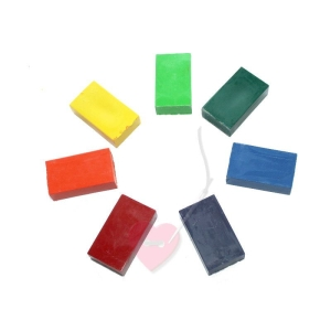 Stockmar Wachsmalblöcke Einzelfarben Ergänzung/Nachfüllfarbe (Farbe: zinnoberrot)