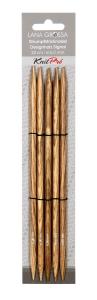 Lana Grossa / KnitPro - SIGNAL Holz Nadelspiel 20cm (Stärke: 2,00mm/US 0)