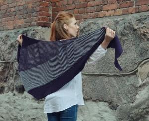 Rosy Green Wool Anleitung - Tuch Syncope von Veera Välimäki