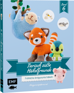 Buch - Tierisch süße Häkelfreunde Band 6
