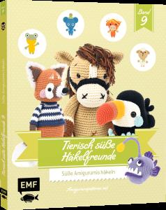Buch - Tierisch süße Häkelfreunde Band 9