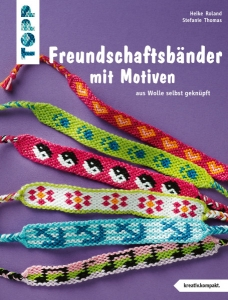 Freundschaftsbänder mit Motiven von H. Roland und S. Thomas