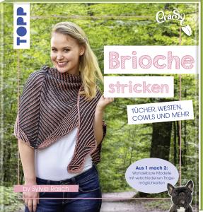 Buch - CraSy Brioche Stricken von Sylvie Rasch