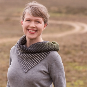 strickmich! Anleitung - Wood Warbler Cowl von Martina Behm