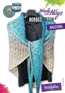 Woolly Hugs Anleitungs Flyer Bobbel Cotton - Tuch Jubiläum
