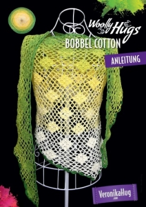 Woolly Hugs Anleitungs Flyer Bobbel Cotton - Tuch Traumrauten
