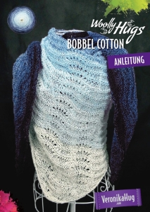 Woolly Hugs Anleitungs Flyer Bobbel Cotton - Tuch Musterwellen