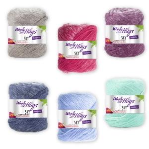 Woolly Hugs Sky - Kettgarn aus Baumwolle (Farbe: 15 Greige)