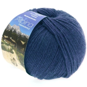 Lana Grossa Alpina Landhauswolle - robustes Trachtengarn (Farbe: taupe (Fb. 0002))
