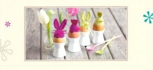 Postkartenanleitung Eierköpfe aus dem Strickatelier capstatt