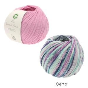 Lana Grossa Linea Pura - Certo GOTS aus 100% Bio-Baumwolle (Farbe: 007 schwarz)