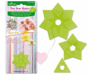Clover Bow Maker - Schablone für Schleifenblumen in drei Größen erhältlich (Größe: klein / small)