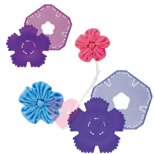 Clover Yo-Yo Maker Rapido - für Blumen Yo-Yo´s in zwei Größen (Größe: klein / small)