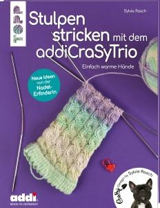 Buch - Stulpen stricken  mit dem addi CraSyTrio