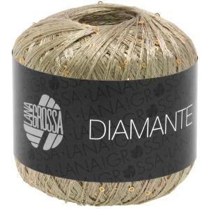 Lana Grossa Diamante - Beilaufgarn mit Pailetten (Farbe: 0003 kupfer)