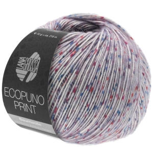 Lana Grossa Ecopuno print (Farbe: flieder bunt (Fb.104))