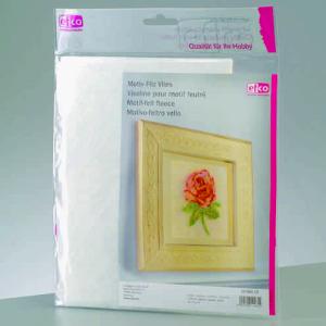 efco - MotiF spezielles Motiv-Filz Vlies für Nadelfilztechniken (Verpackungseinheit: Einzelbogen 45x33cm)