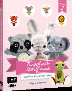 Buch - Tierisch süße Häkelfreunde Band 2