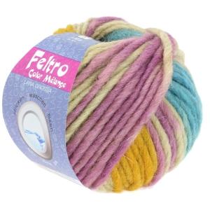 Lana Grossa Feltro color melange - selbstmusternde, melierte Filzwolle (Farbe: 1002)