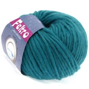 Lana Grossa Feltro uni - Filzwolle zum Strickfilzen (Farbe: Royalblau (Fb. 26))