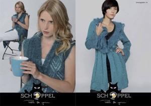 Schoppel Wolle Anleitung In Silk und Mohair Lady
