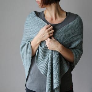 Rosy Green Wool Anleitung - Tuch Glückauf von Melanie Berg