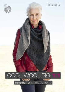 Lana Grossa Anleitungs Flyer Cool Wool Big 1:1 H/W 2018