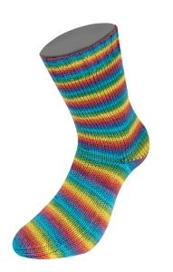 Lana Grossa Meilenweit 100 Soja Mini Stripes (Farbe: 322)