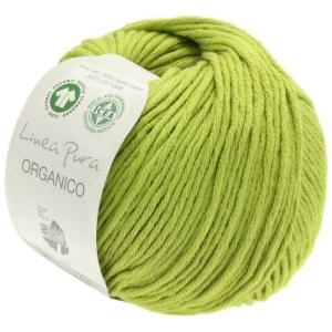 Lana Grossa Linea Pura - Organico (Farbe: resedagrün (Fb. 116))