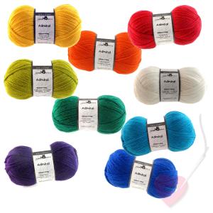 Schoppel Wolle Admiral 4-fach uni - Sockengarn in vielen Farben (Farbe: herbstorange)