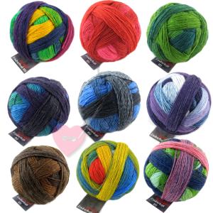 Schoppel Wolle Lace Ball 100 - Lacegarn aus Merinowolle (Farbe: Fliederduft)