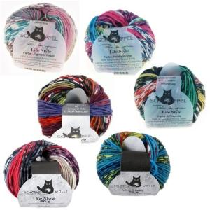 Schoppel Wolle Life Style magic - feine Merinowolle (Farbe: Giftzwerg)