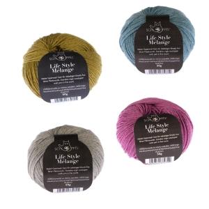 Schoppel Wolle Life Style Melangé - Merino extrafein meliert (Farbe: savanne)
