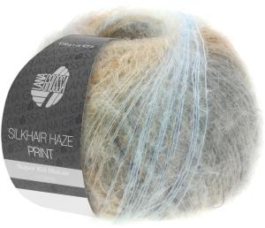 Lana Grossa Silkhair Haze Print - Superkid Mohair mit Seide (Farbe: (1212))