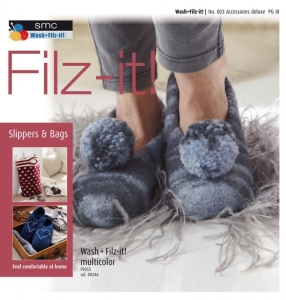 Wash+Filz-it! - Heft - Filz-it Designheft No. 003 Accessoires deluxe