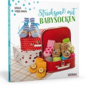 Strickspaß mit Babysocken von Kikka Virolainen