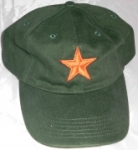 Caps Fun ROTER STERN , Base Cap Sprüche bestickt, größenverstellbar Basecap