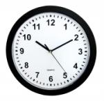 Wanduhr mit Geheimversteck Uhr schwarz Wall Clock